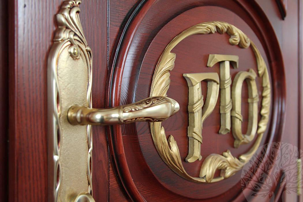 Двери из натурального ясеня: Окна в . Автор – Lesomodul, Классический