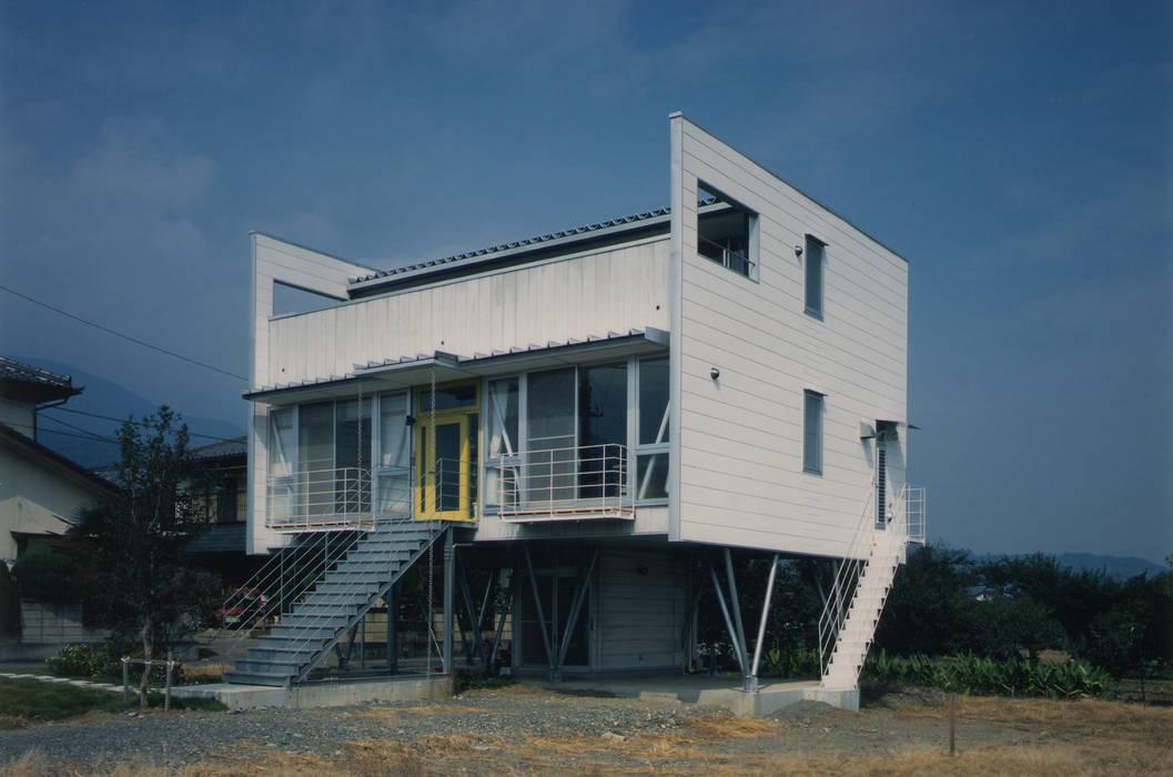 โดย 原 空間工作所 HARA Urban Space Factory ผสมผสาน เซรามิค
