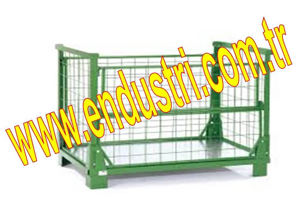 ENDÜSTRİ GRUP-Tel Kasa Telli Kafes Sepet Euro Gitterbox Konteyner Endüstriyel Koridor, Hol & Merdivenler ENDÜSTRİ GRUP Endüstriyel