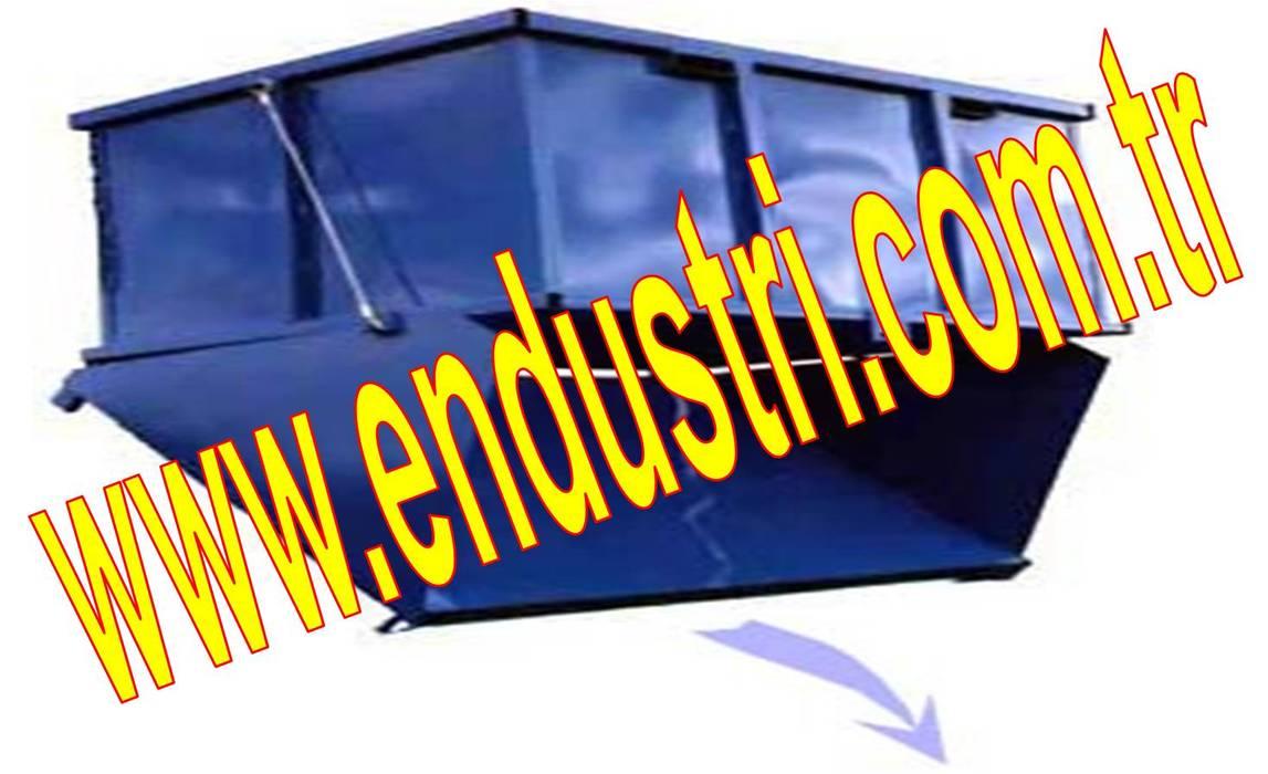 ENDÜSTRİ GRUP-Açılır Tabanlı Konteyner Hurda Taşıma Kasası Endüstriyel Multimedya Odası ENDÜSTRİ GRUP Endüstriyel