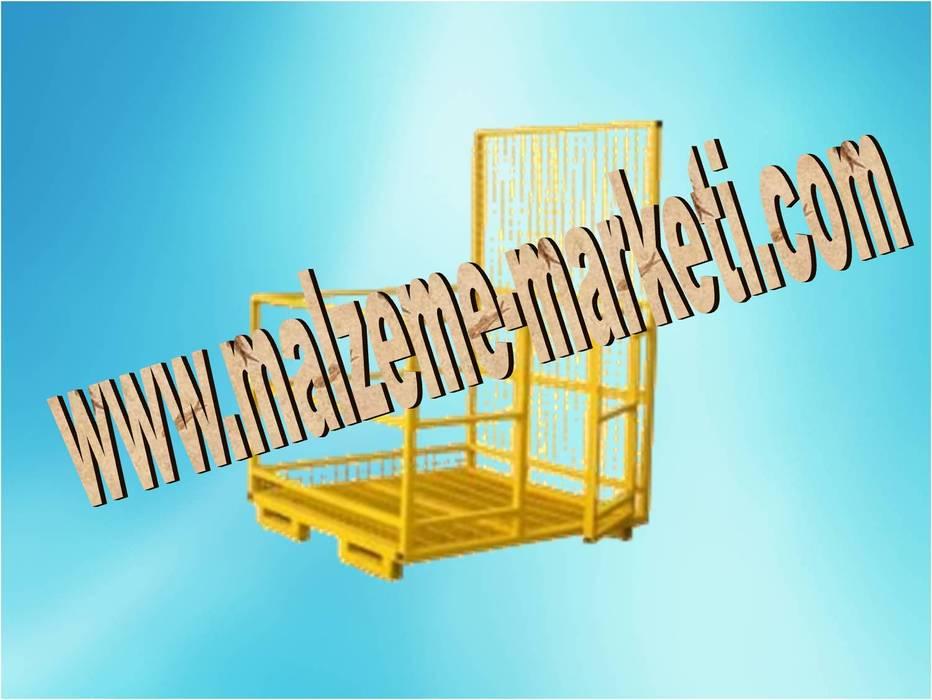 Malzeme Marketi – Malzeme Marketi -Forklift İnsan Adam Personel Taşıma Kaldırma Sepeti:  tarz Evler,