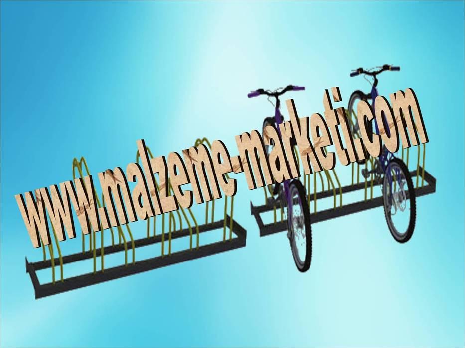Malzeme Marketi – Malzeme Marketi-Bisiklet Parkı Parkları İmalatı:  tarz Kış Bahçesi,