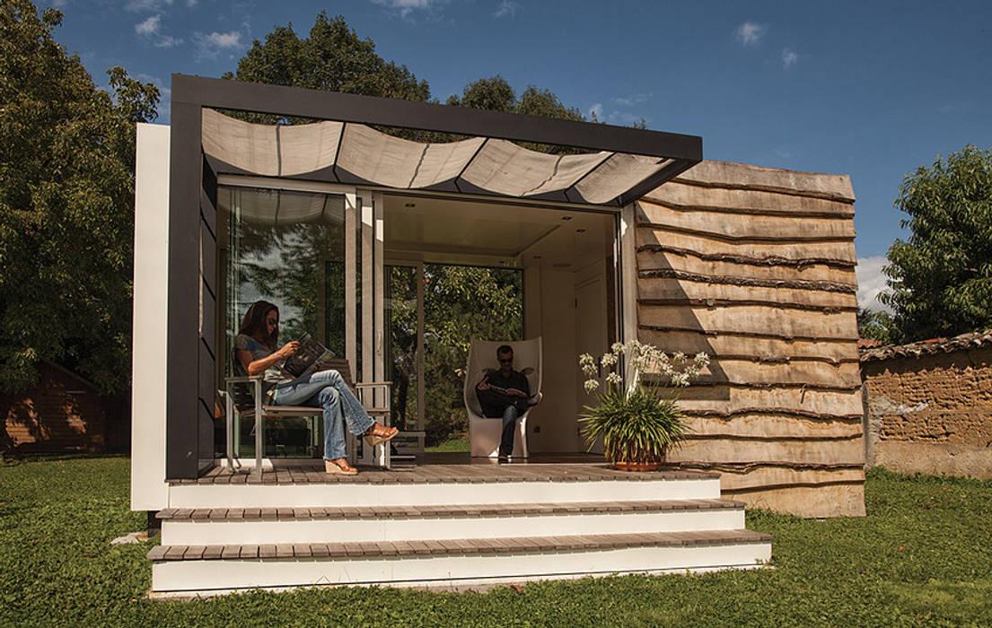 Studio jardin Jardin moderne par .oboo-outdoor Moderne