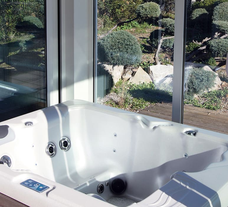 Projekty,  Łazienka zaprojektowane przez .oboo-outdoor,