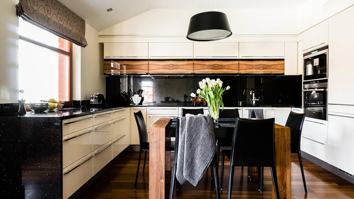 Modern Kitchen by Anna Serafin Architektura Wnętrz Modern