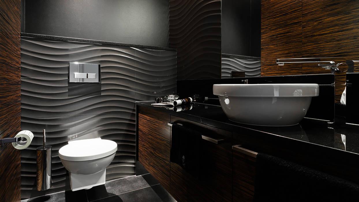 Modern style bathrooms by Anna Serafin Architektura Wnętrz Modern