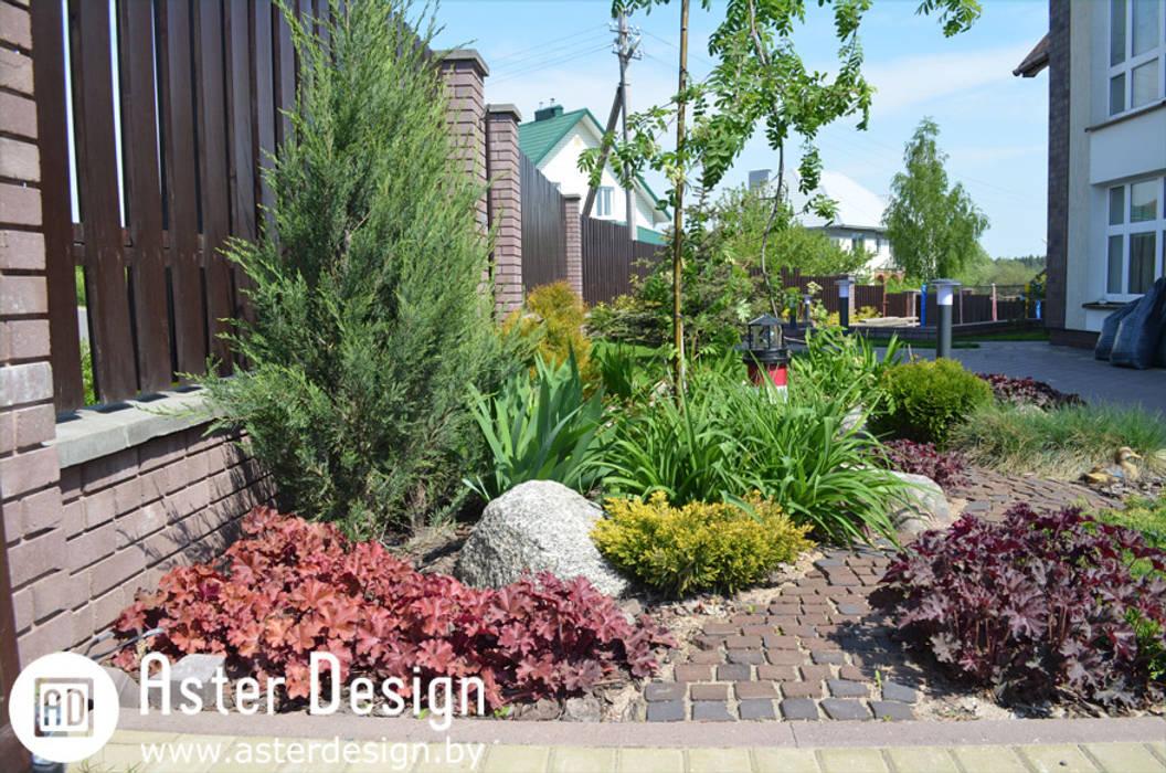 Jardin de style  par Aster Garden, Éclectique