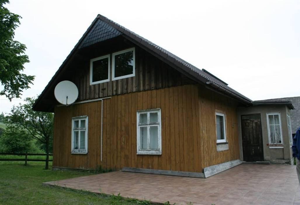 Metamorfoza domu w Bieszczadach deco chata
