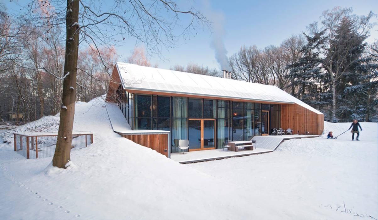 Casas modernas de KRFT Moderno