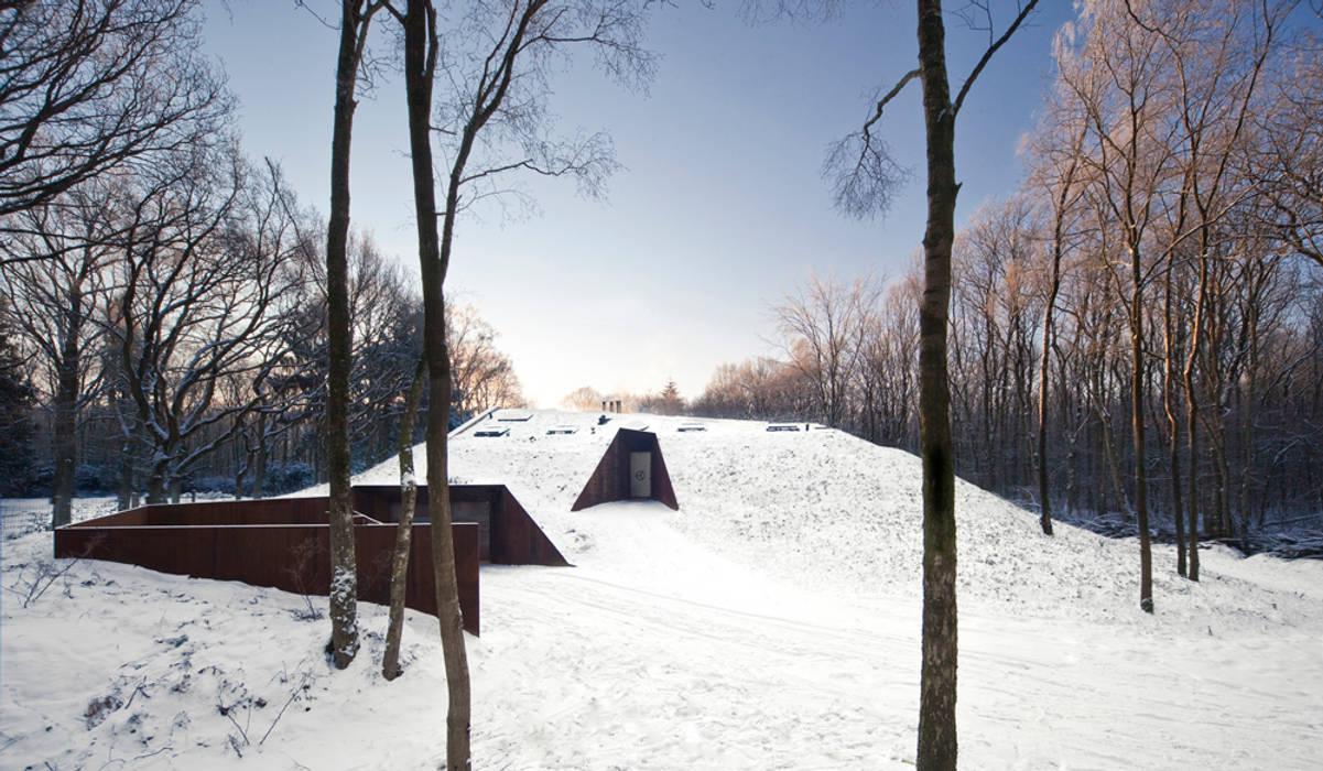 Dutch Mountain Moderne huizen van KRFT Modern