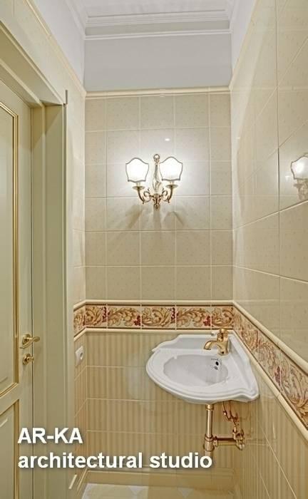 Принцип семейного совета: Ванные комнаты в . Автор – AR-KA architectural studio