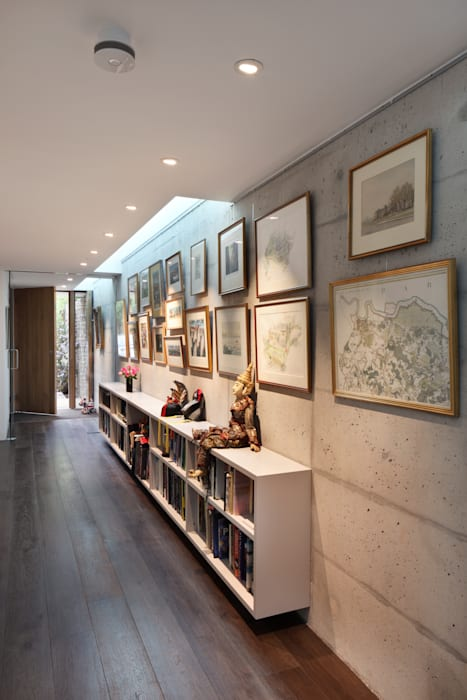 E2 PAVILION ECO HOUSE, BLACKHEATH Koridor & Tangga Modern Oleh E2 Architecture + Interiors Modern