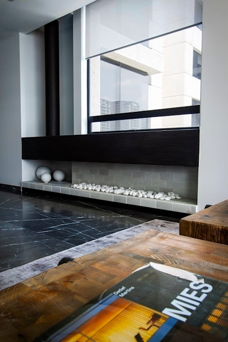 走廊 & 玄關 by Concepto Taller de Arquitectura, 現代風