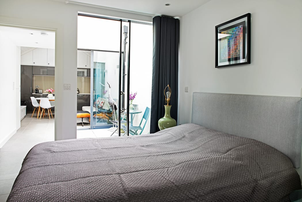 CIRCUS STREET, GREENWICH E2 Architecture + Interiors Modern style bedroom