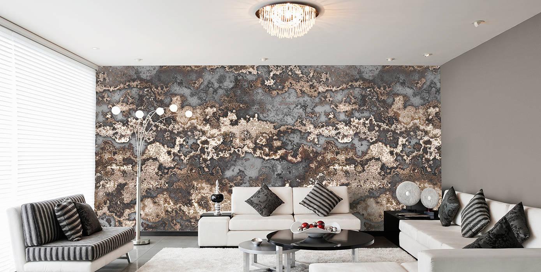 Terralion Grau Braun Wohnzimmer Von Mowade Homify