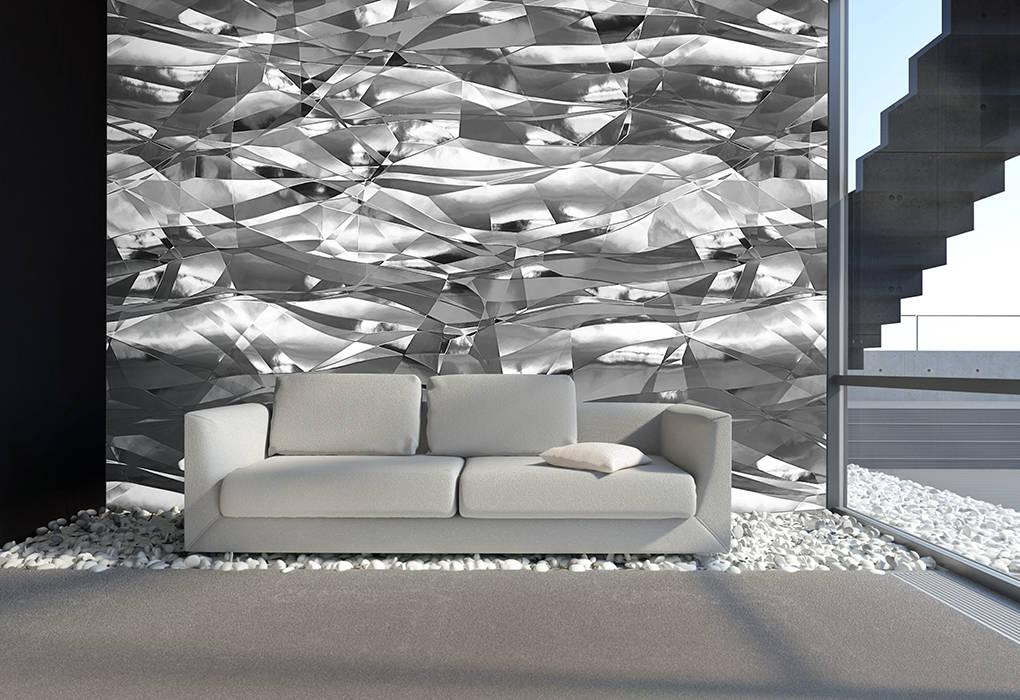 Crush-folie grau: moderne wohnzimmer von mowade | homify