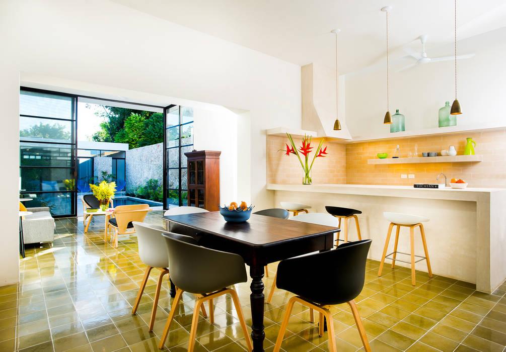 Phòng ăn phong cách hiện đại bởi Taller Estilo Arquitectura Hiện đại