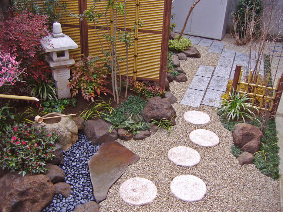 新美園 Jardines de estilo ecléctico