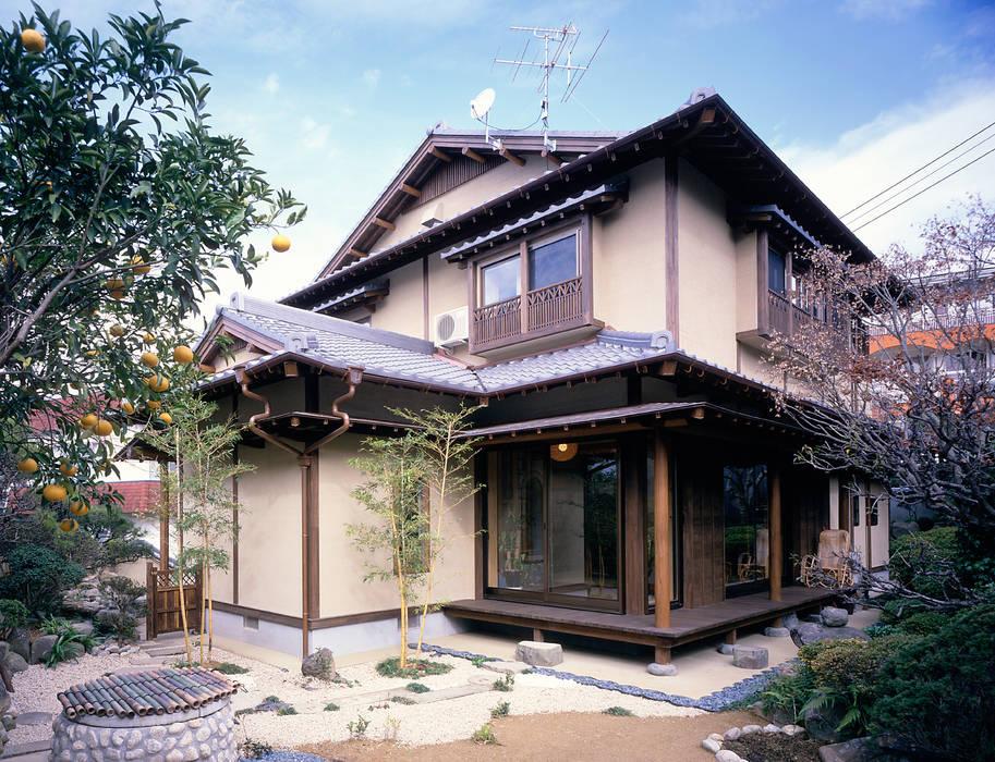 Дома в . Автор – 鶴巻デザイン室, Азиатский