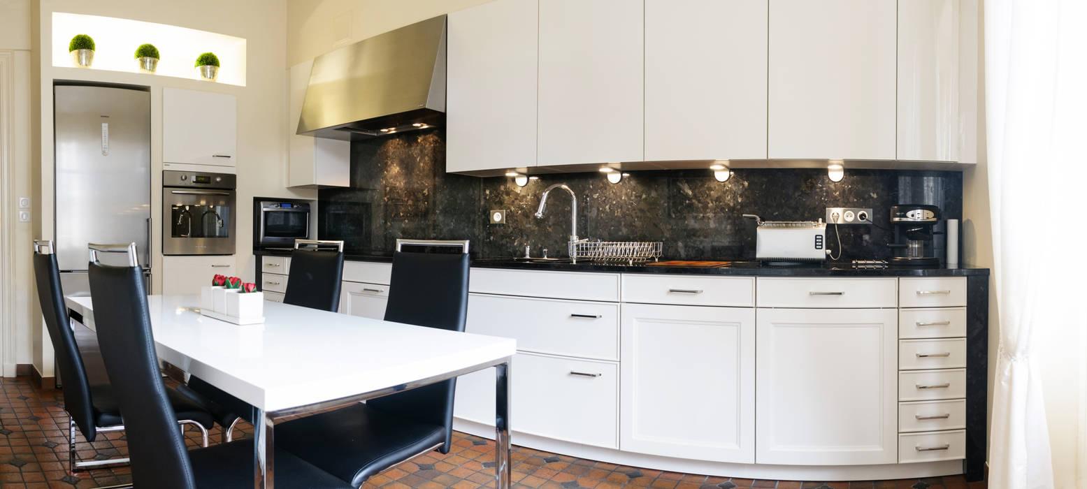 Transformation d'une cuisine par Codes Intérieurs Moderne