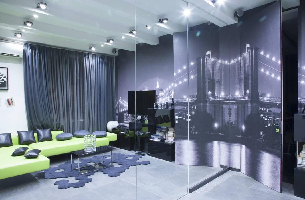 гостиная Архитектурно-дизайнерское бюро Натальи Медведевой 'APRIORI design'