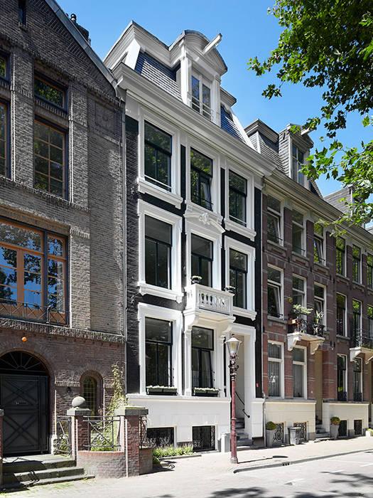 Voorgevel:  Huizen door Lumen Architectuur