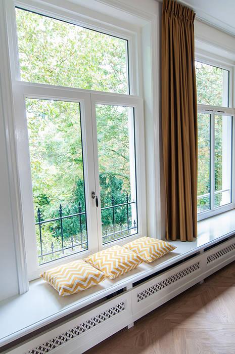 Vensterbanken Klassieke woonkamers van Lumen Architectuur Klassiek