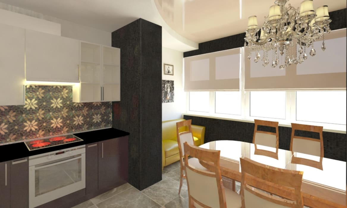 Classic style dining room by Андреева Валентина Classic