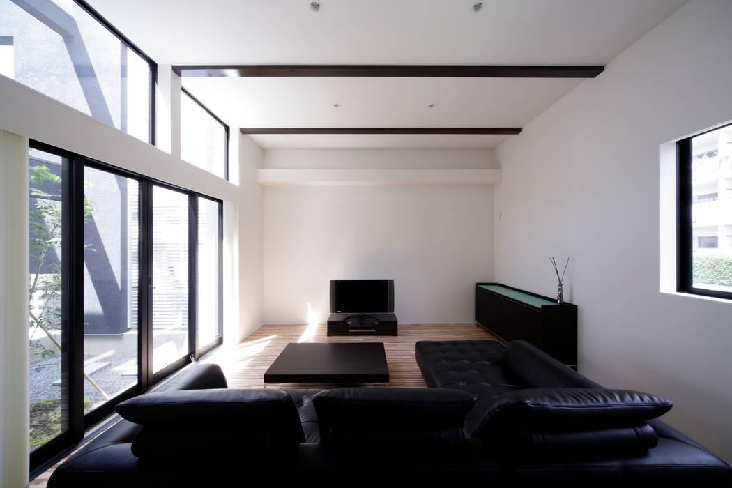 客廳 by artect design - アルテクト デザイン, 隨意取材風