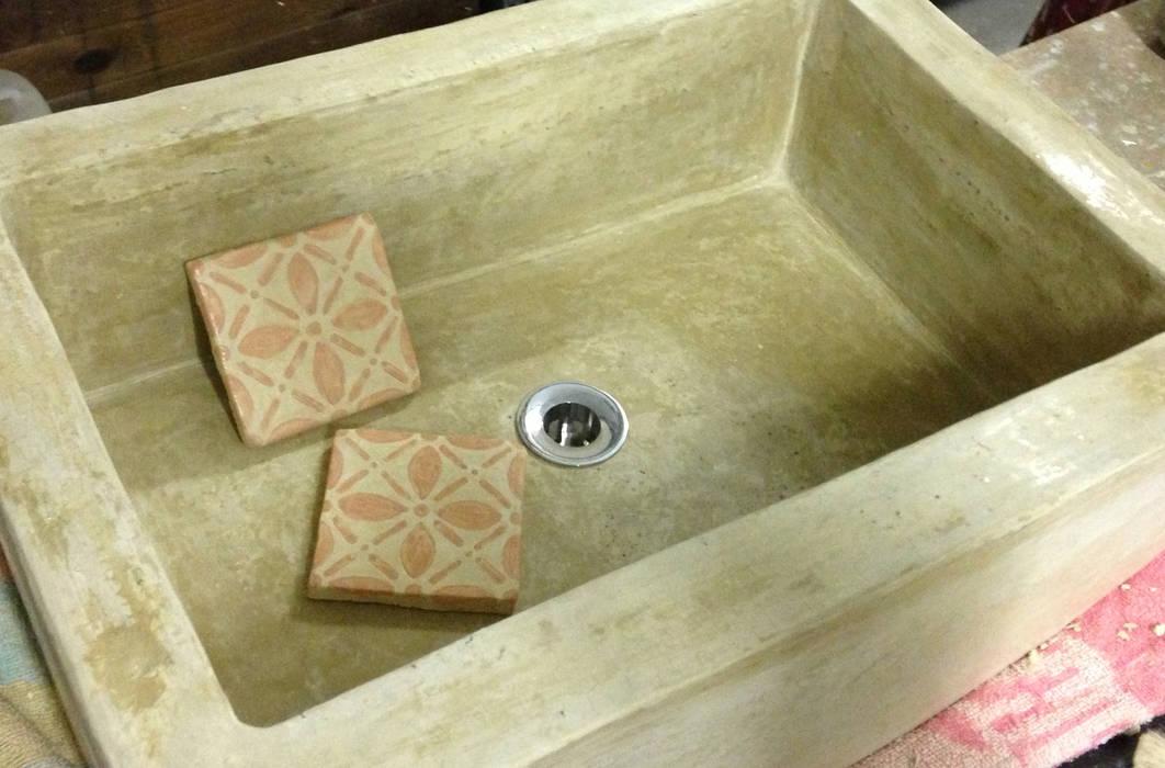 Bagni In Marmorino : Lavandini e piastrelle realizzati in marmorino e tadelakt : bagno in