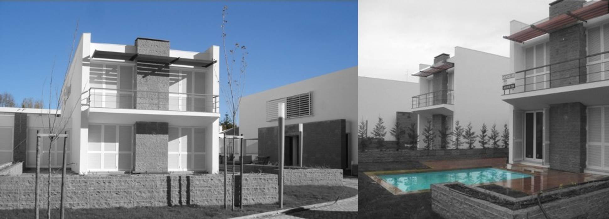 Condomínio Habitação Estoril Casas clássicas por Arquitronica Lda Clássico