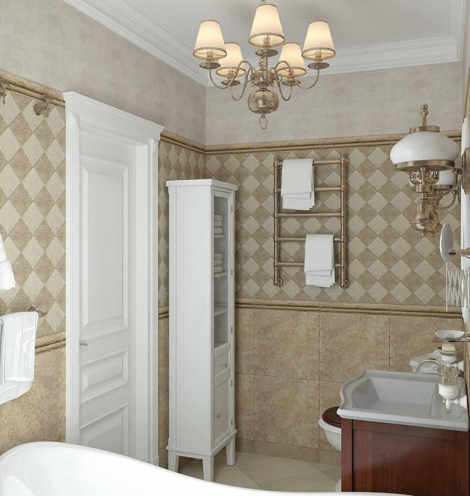 Ванная комната: Ванные комнаты в . Автор – Yurov Interiors