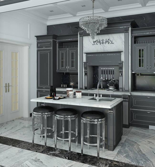 Кухня-столовая: Кухни в . Автор – Yurov Interiors