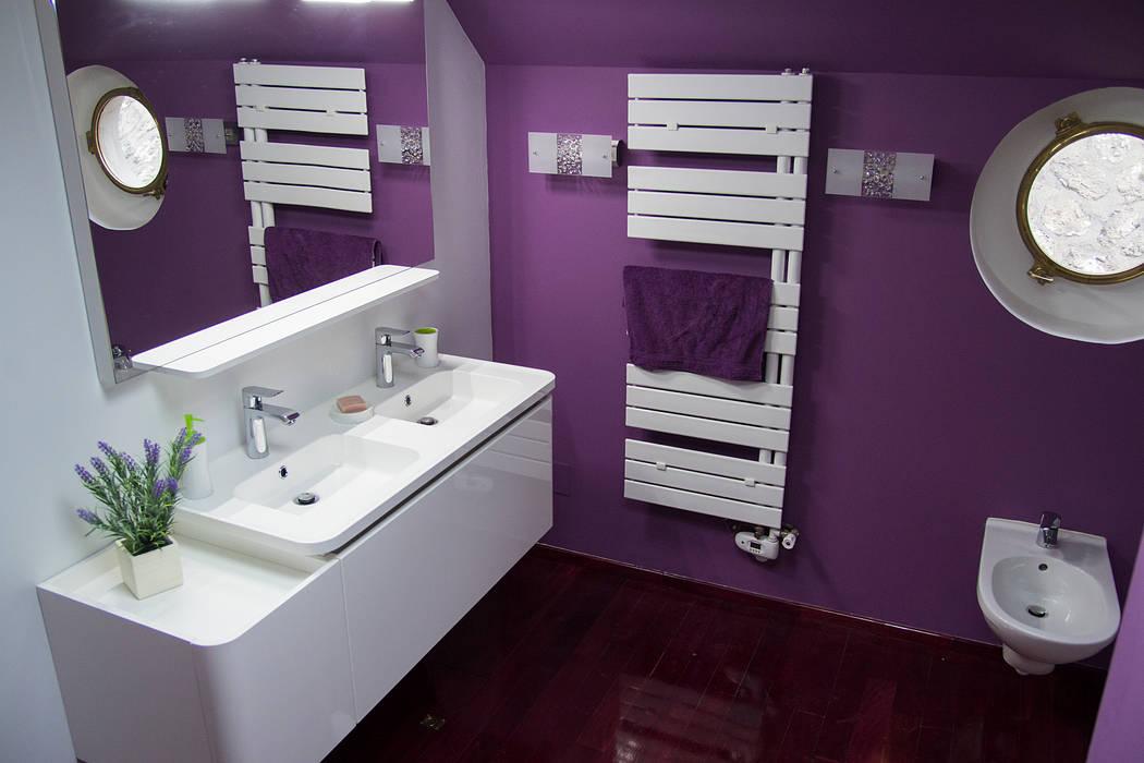 salle de bain: Salle de bains de style  par Batbau'bio