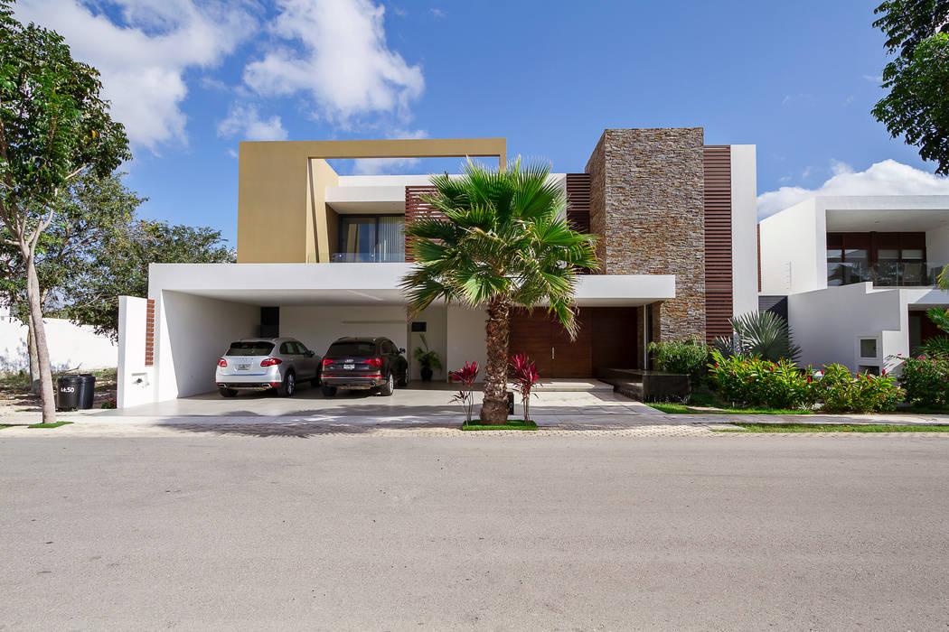 Casas de estilo  por Enrique Cabrera Arquitecto , Moderno