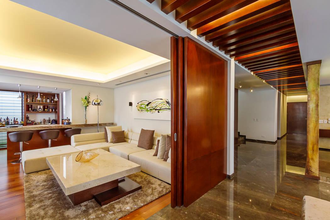 Oficinas de estilo  por Enrique Cabrera Arquitecto, Moderno