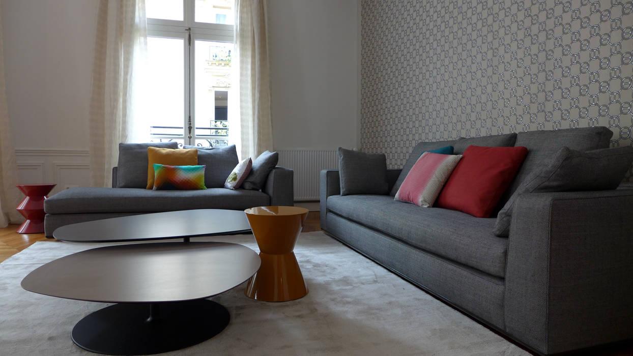 Cote Salon Canape Table Basse Salon De Style Par Fella