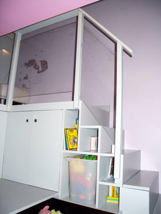 Côté fille: Chambre d'enfant de style  par I.D.E.E