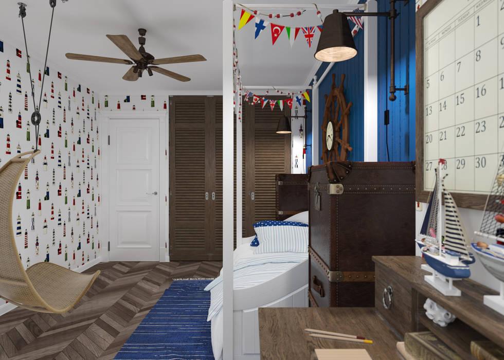 Детская: Детские комнаты в . Автор – 3D GROUP