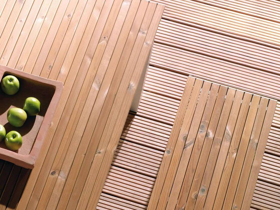 Bangkirai Terrassendiele Balkon Veranda Terrasse Von Hk