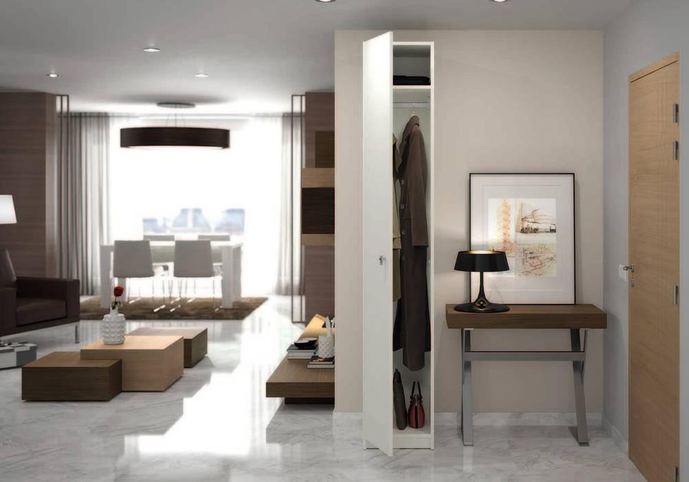 armoire penderie sur mesure couloir entr e escaliers de style par homify. Black Bedroom Furniture Sets. Home Design Ideas