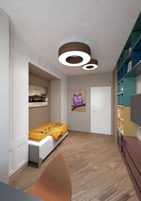 Eklektyczny pokój dziecięcy od tim-gabriel Eklektyczny