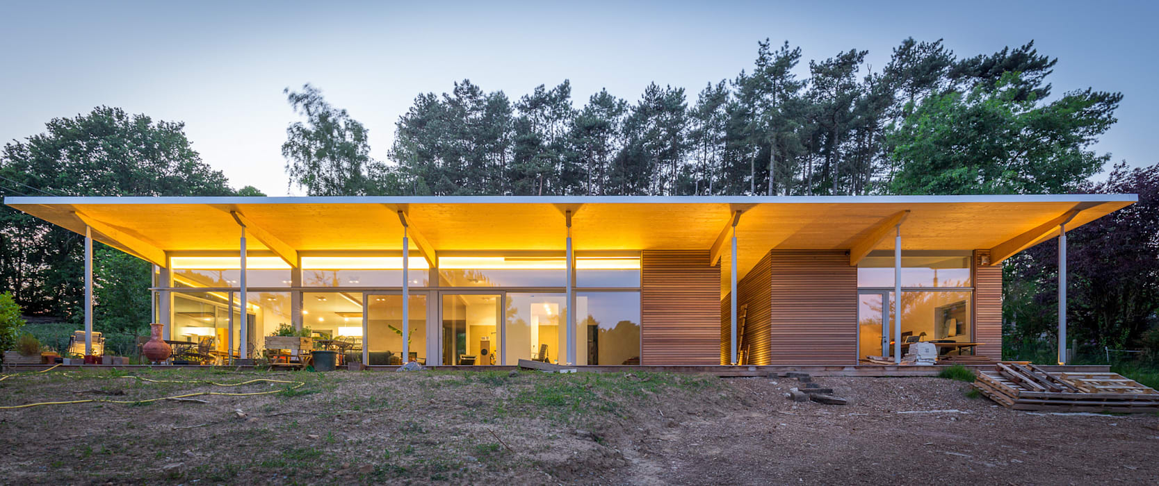 Houses by OPEN ARCHITECTES, Modern