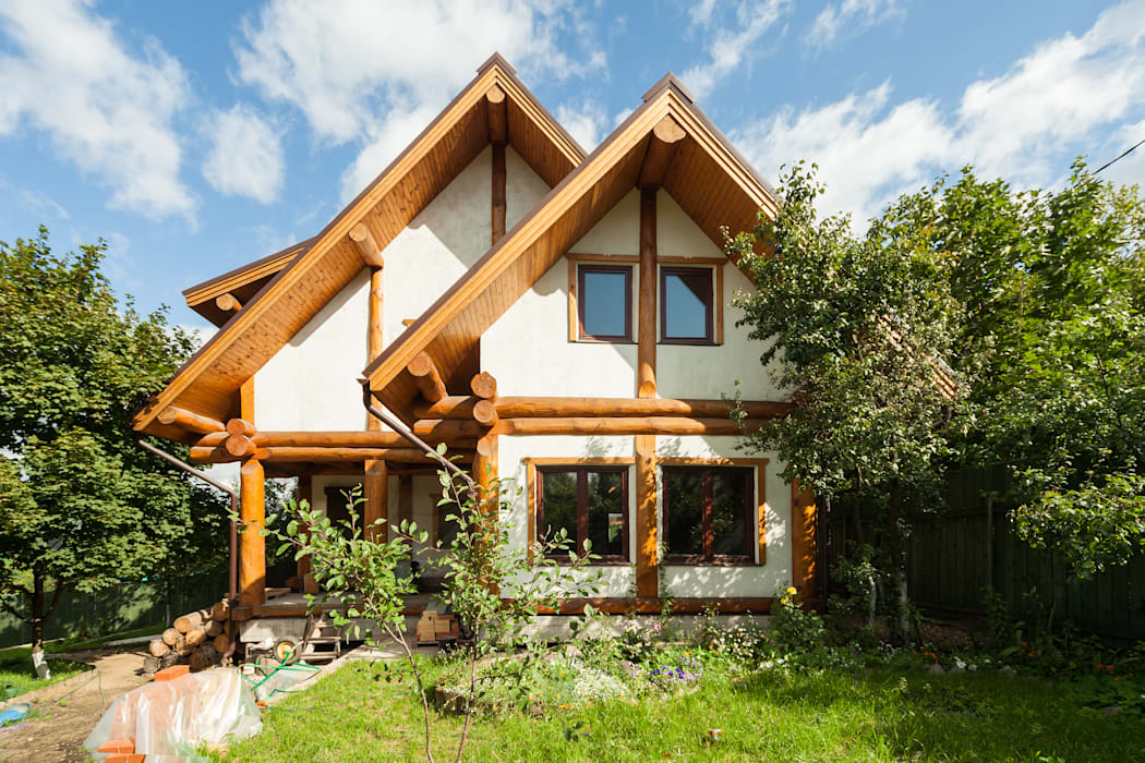 Rustic style houses by Smart Wood Rustic