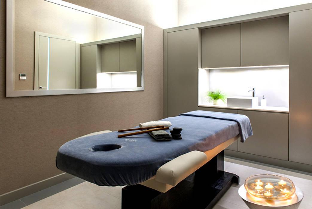 gabinet masażu: styl nowoczesne, w kategorii Spa zaprojektowany przez JOL-wnętrza