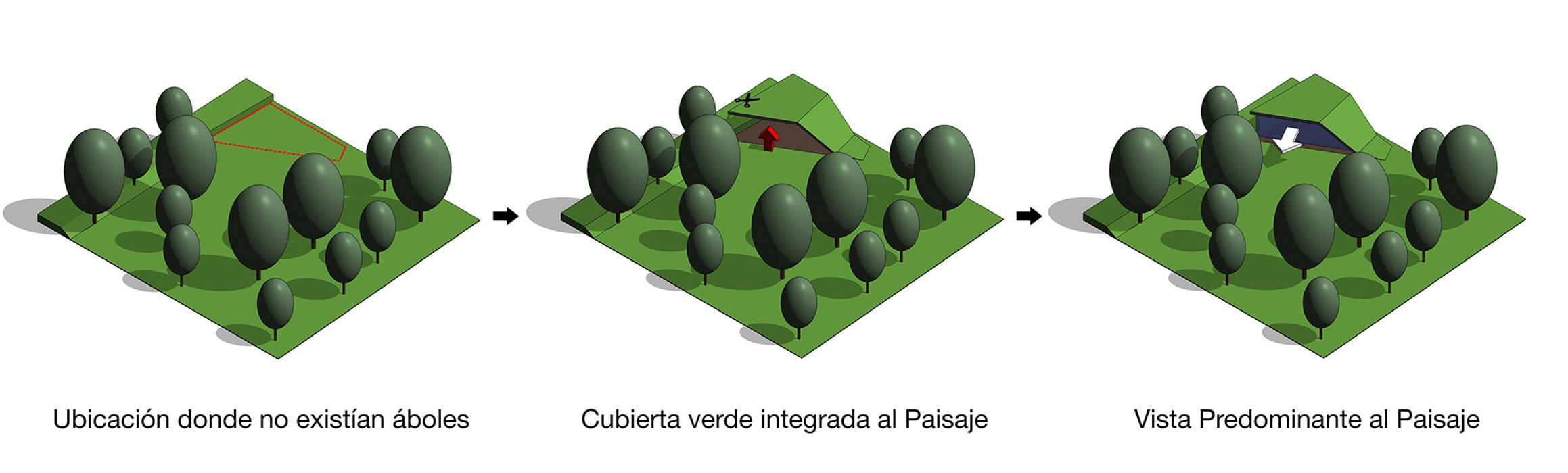 Cubierta verde Integrada de sanzpont [arquitectura] Moderno