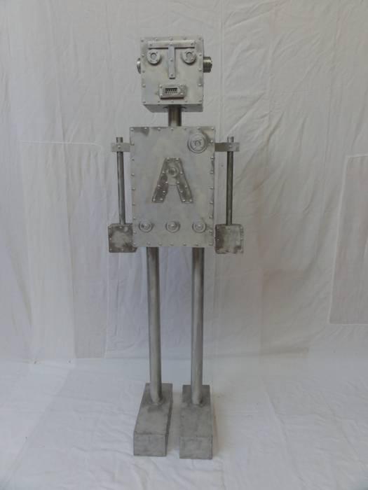 ROBOT A: Salon de style  par CYRILLE PLATE