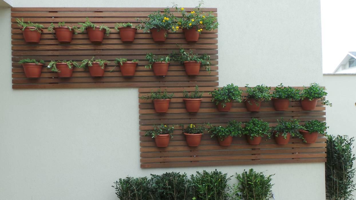 Jardim vertical Jardins modernos por homify Moderno