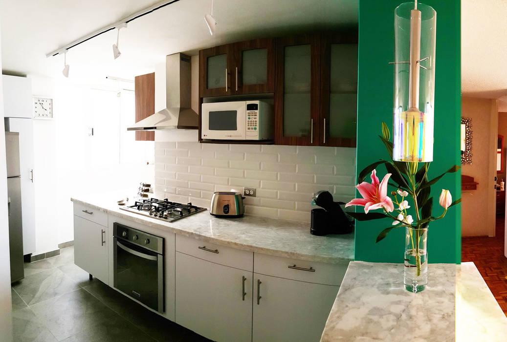 Modern kitchen by Diseño Distrito Federal Modern