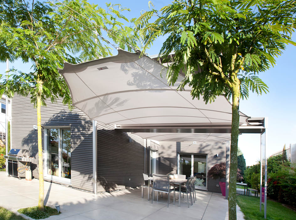 Balcones y terrazas de estilo mediterraneo por C4sun